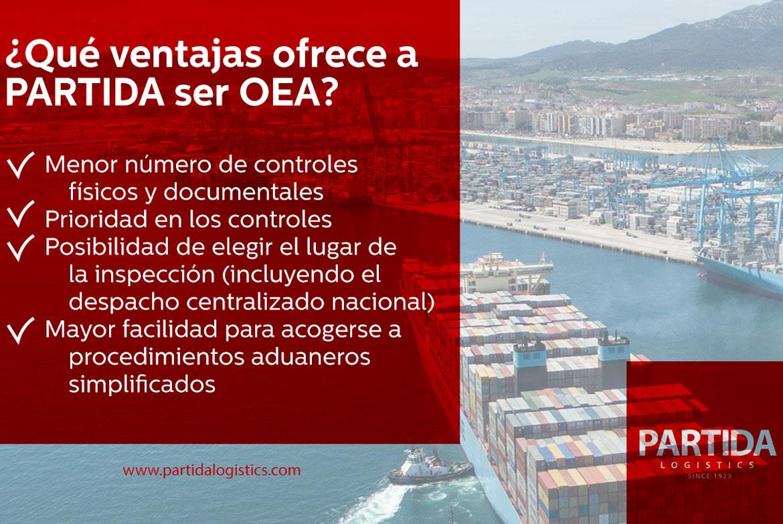 ¿Qué ventajas ofrece la certificación OEA?