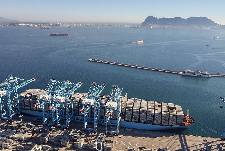 Algeciras se mantiene entre los mayores puertos de Europa