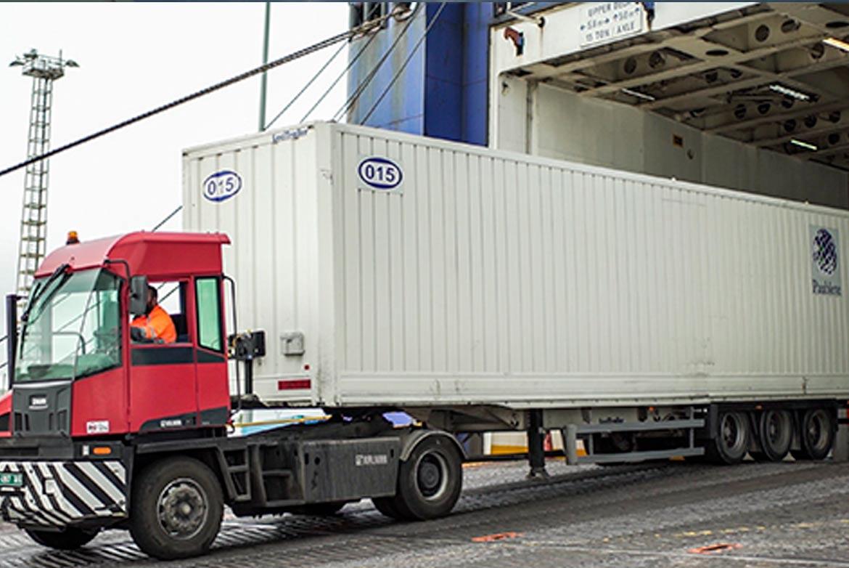 Los tráficos en camión entre Tánger y Algeciras crecen un 4,7%
