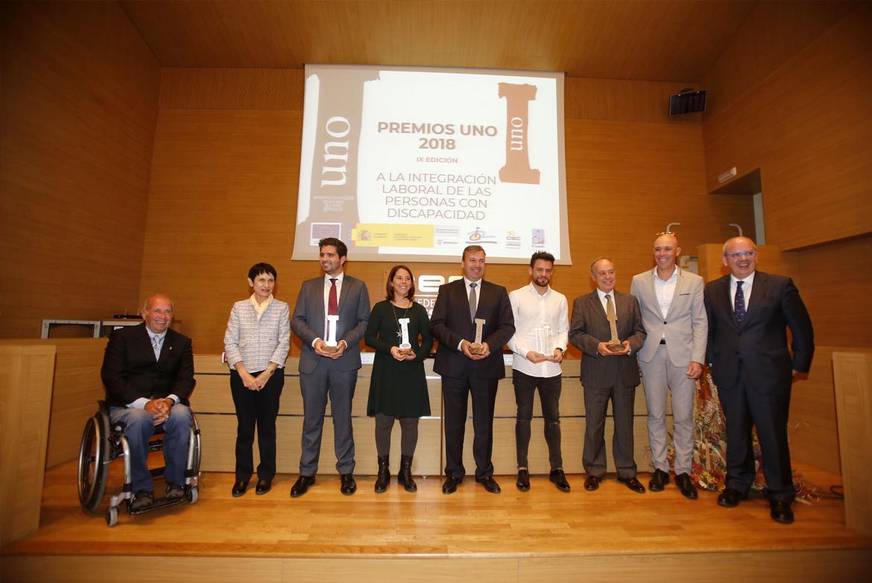 PARTIDA es galardonada en los IX PREMIOS UNO a la Integración Laboral de las personas con discapacidad
