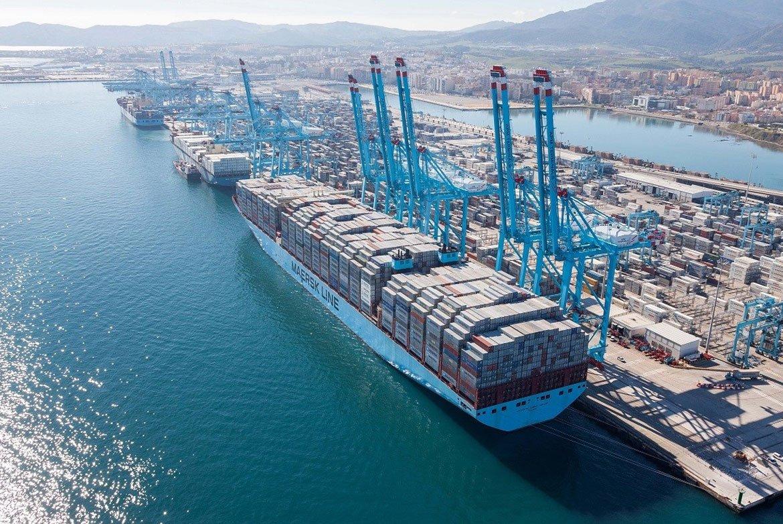 """""""El Puerto de Algeciras movió 106,8 toneladas de mercancías en 2018"""""""