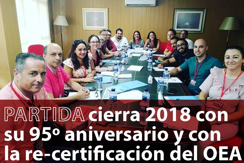 Entrevista Veintepies: «Partida cierra 2018 con su 95º aniversario y con la re-certificación del OEA»