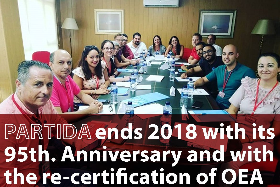"Veintepies Interview: ""Partida ends 2018 with its 95th. Anniversary and with the re-certification of OEA"""
