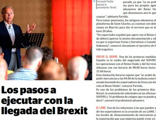Entrevita F&H: «Los pasos a ejecutar con la llegada del Brexit»
